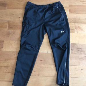 Nike men's dri-fit running pants men's XL.